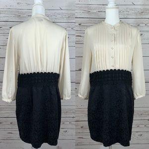 Kensie black and white dress